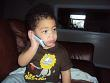 Jo'Hari on the phone